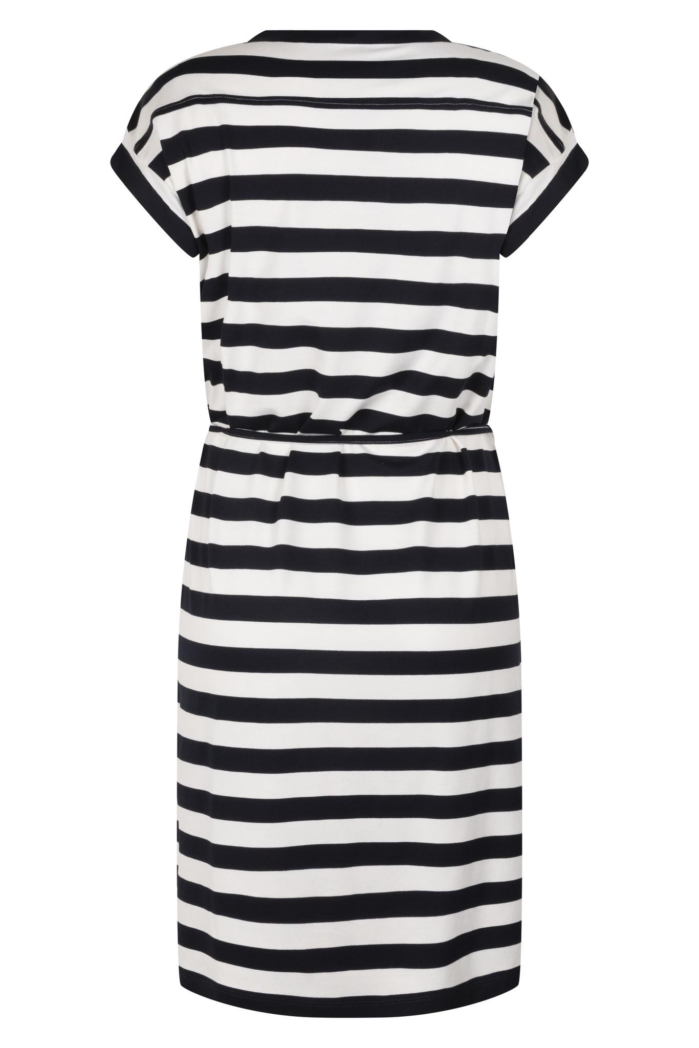 Zoso Zoso Amee striped dress navy/white