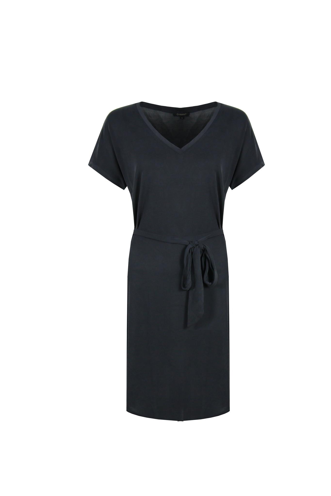 G-Maxx G-Maxx jurk Elin zwart