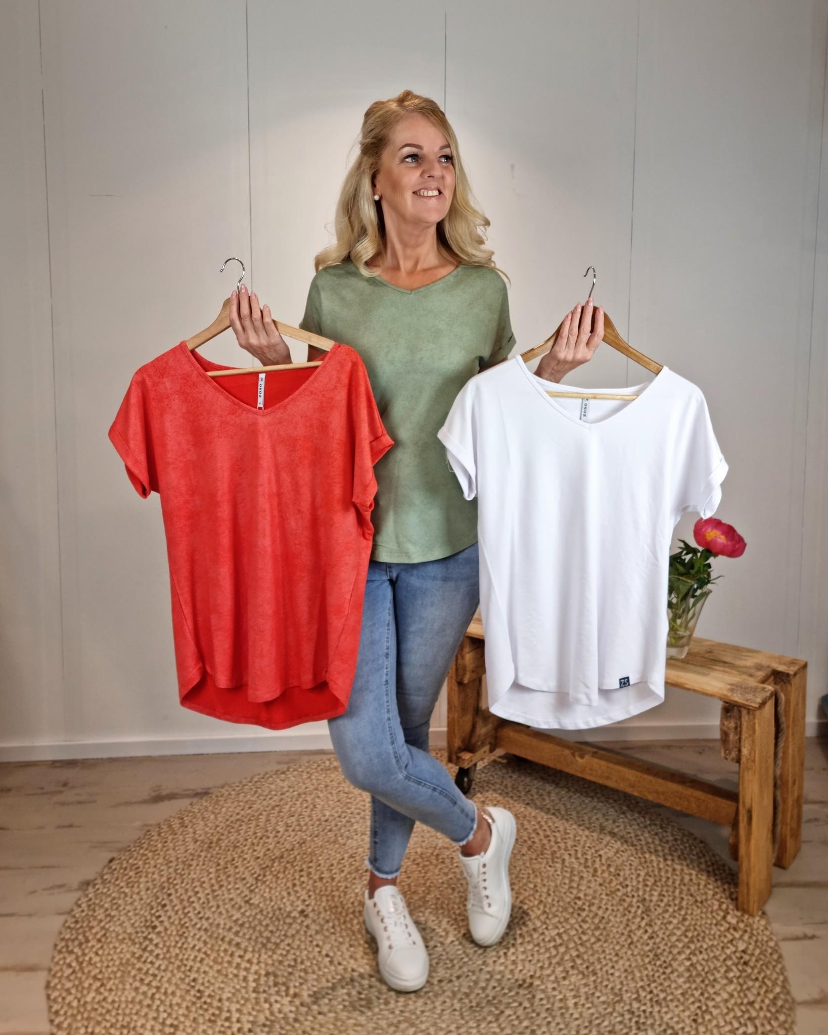 Zoso Zoso Zaza coated shirt