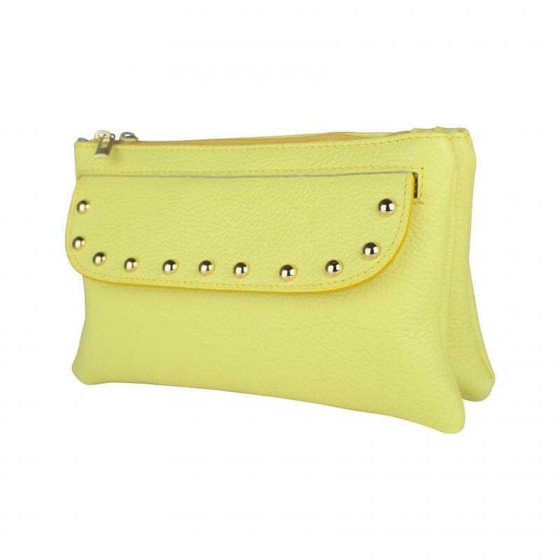 Baggyshop Baggyshop Happy stud yellow
