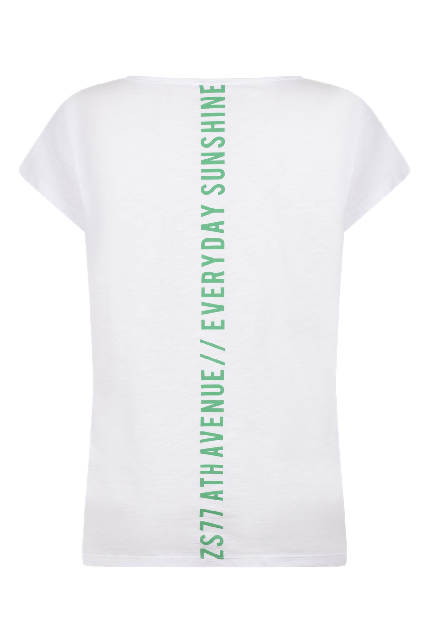 Zoso Zoso Ever t-shirt with print white/green