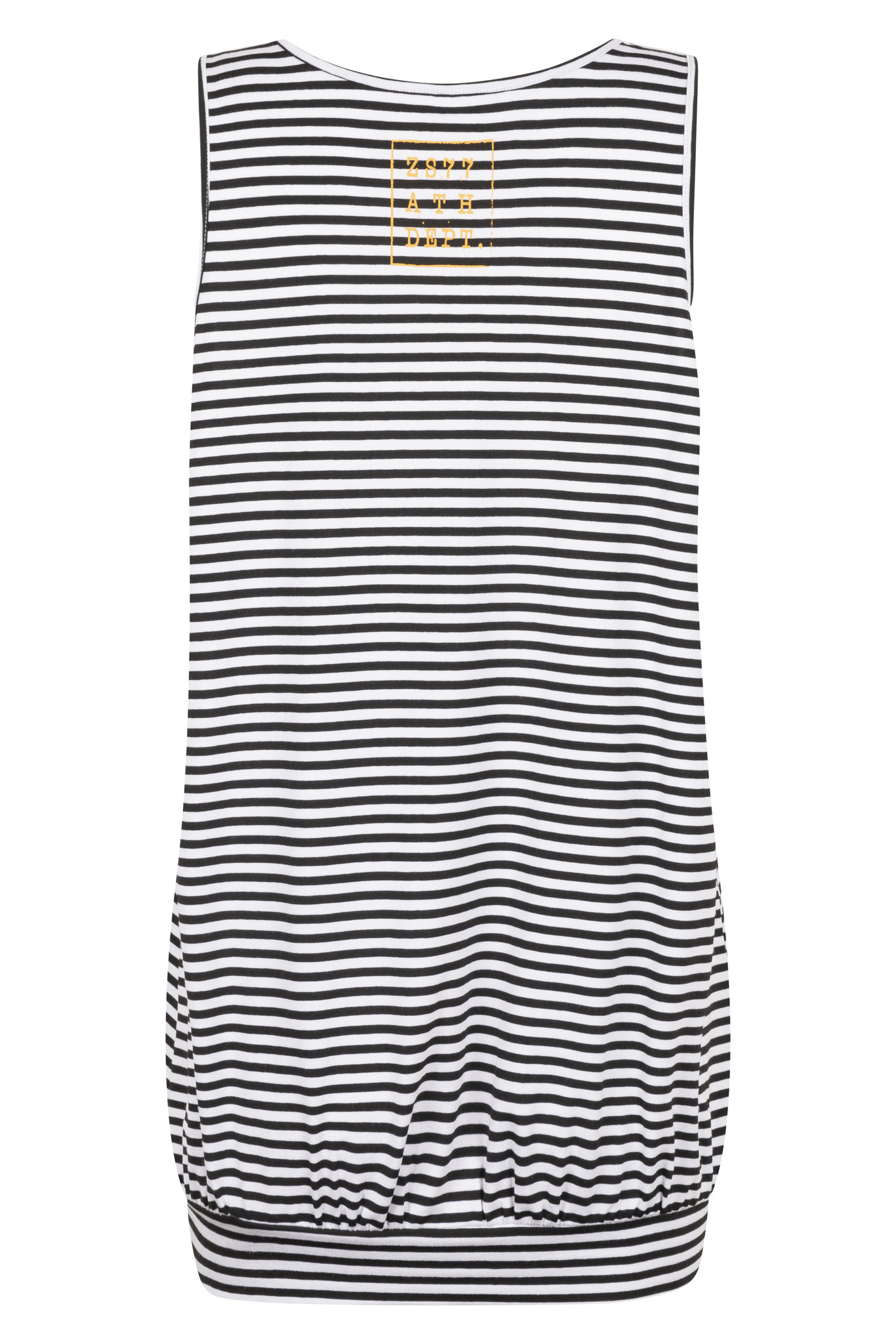 Zoso Zoso Lilian t-shirt striped with print summergold