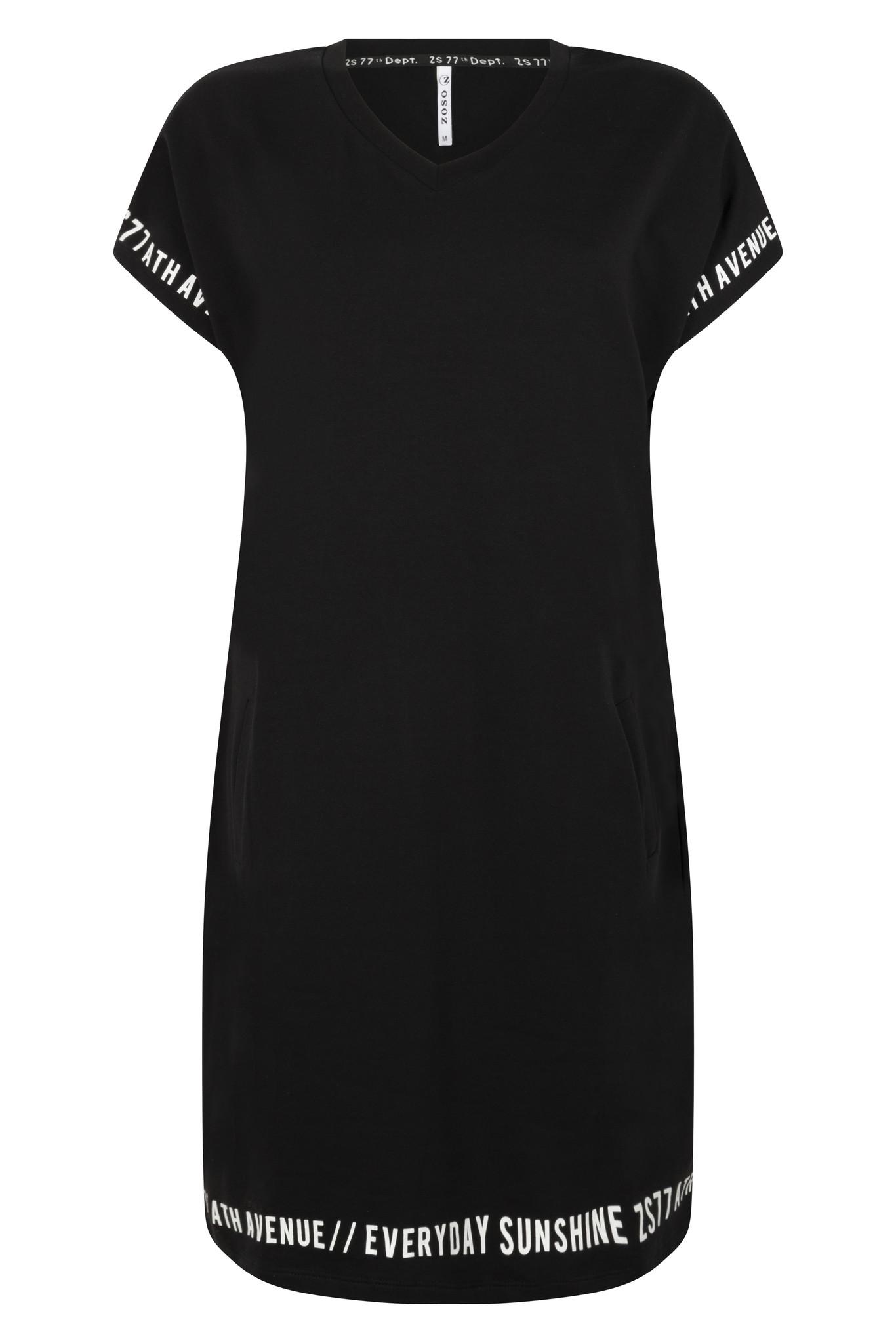 Zoso Zoso Vera jurk with print