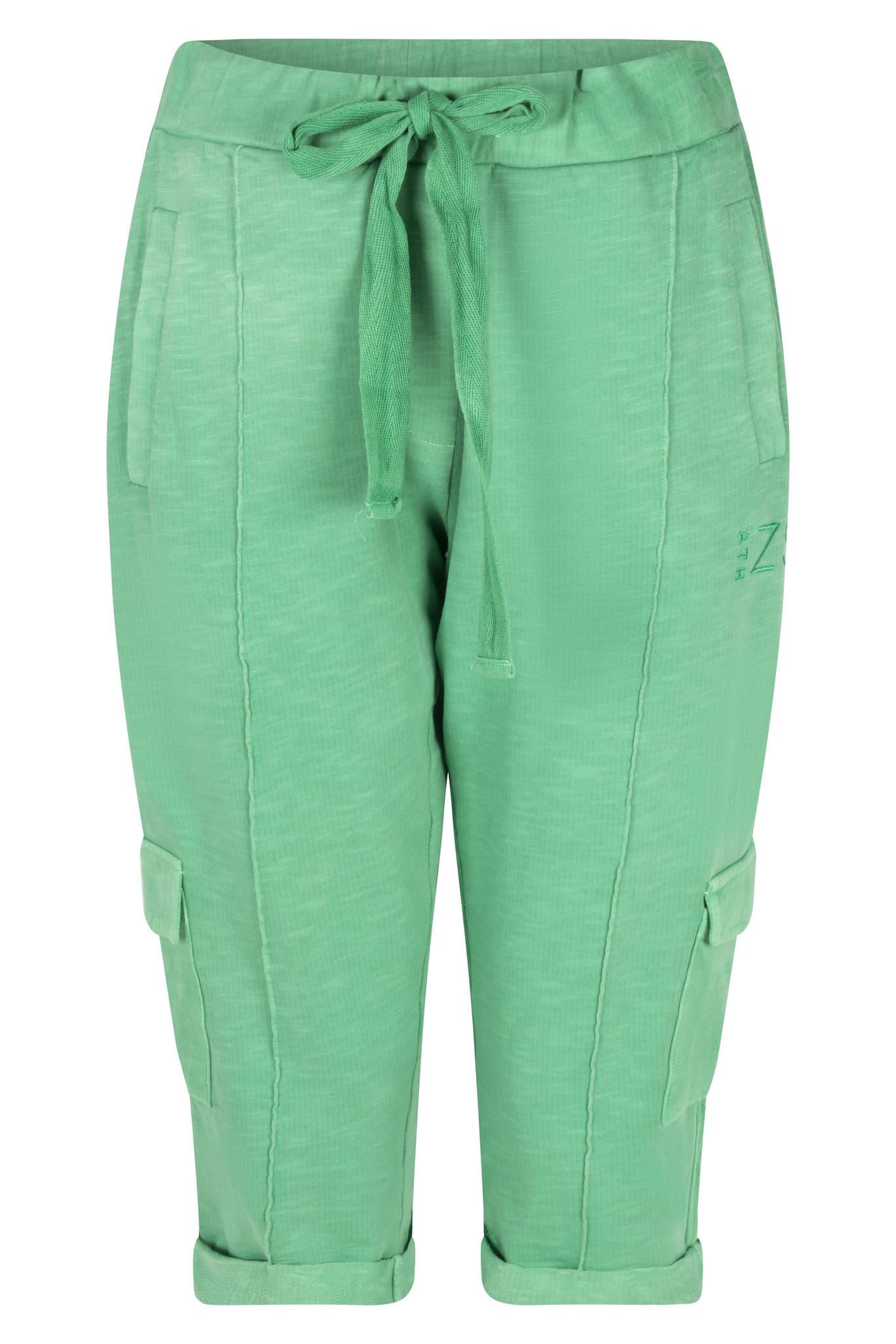 Zoso Zoso Havana broek capri dye garment green