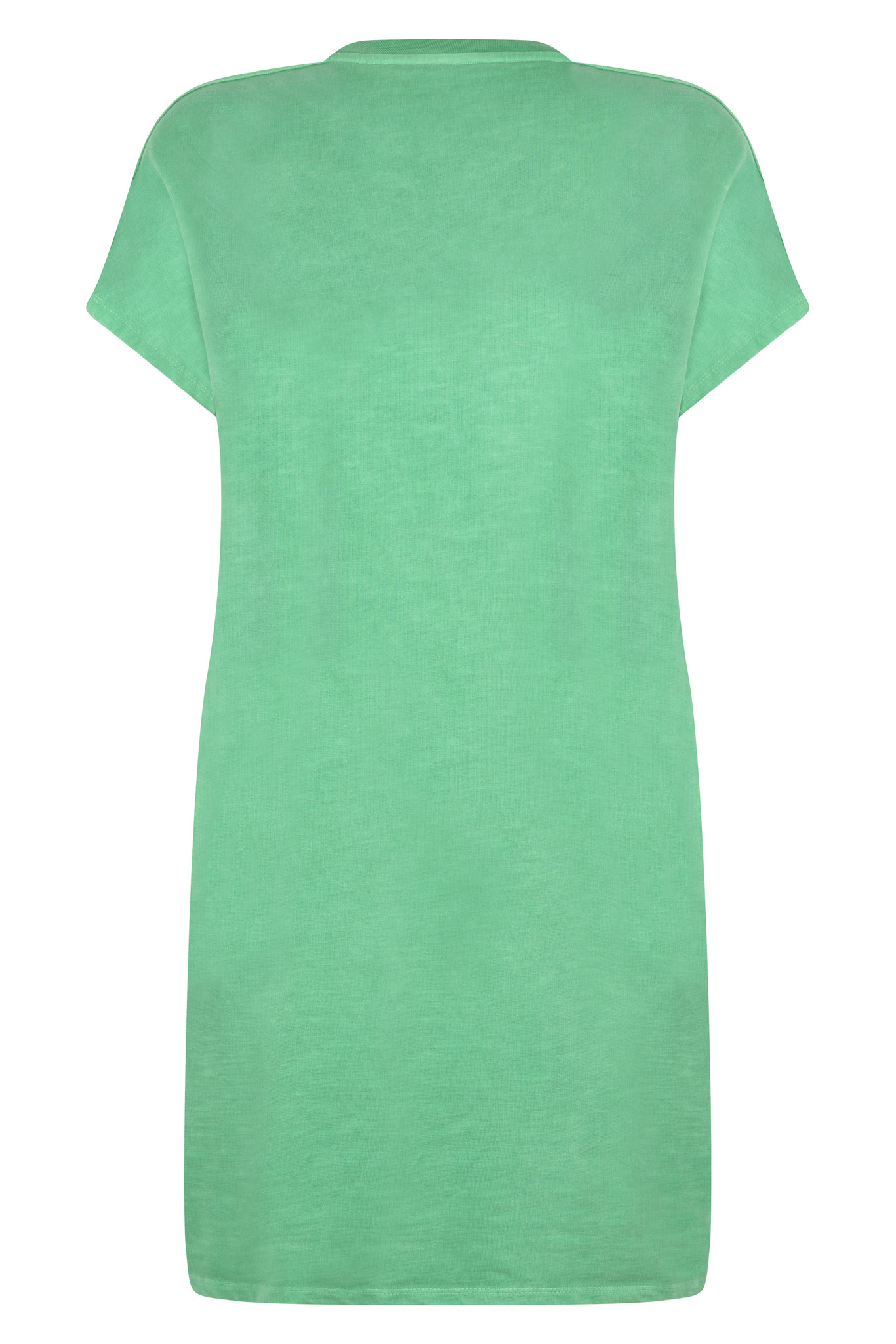 Zoso Zoso Summery jurk dye garment green