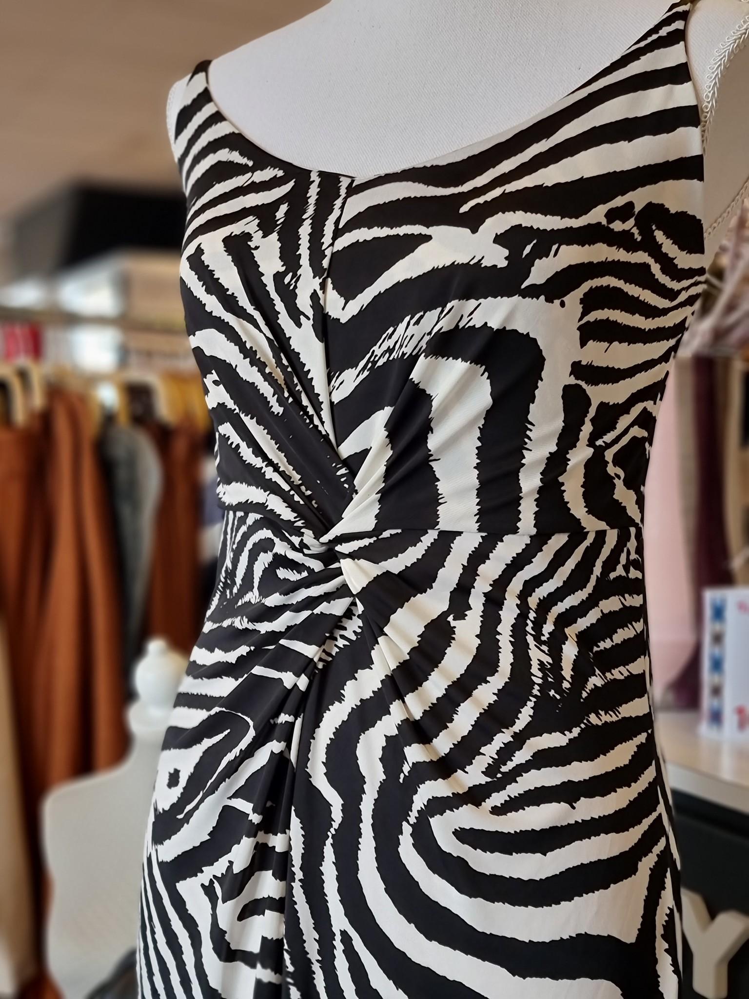 Iz Naiz Iz Naiz jurk Zebra