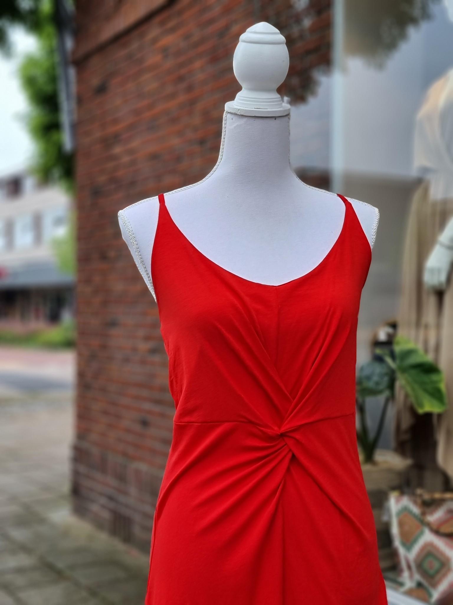 Iz Naiz Iz Naiz jurk rood