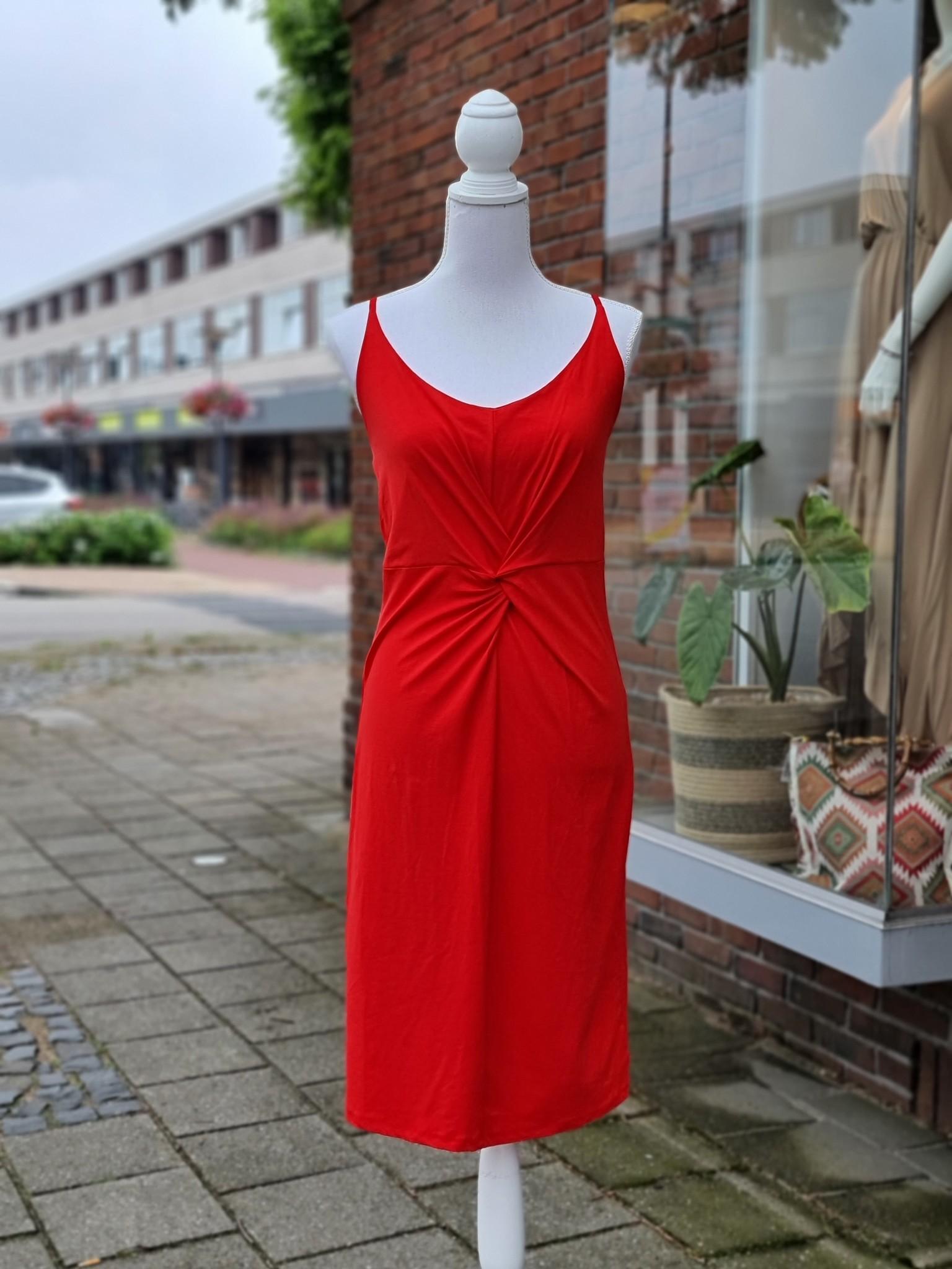 Iz Naiz jurk rood