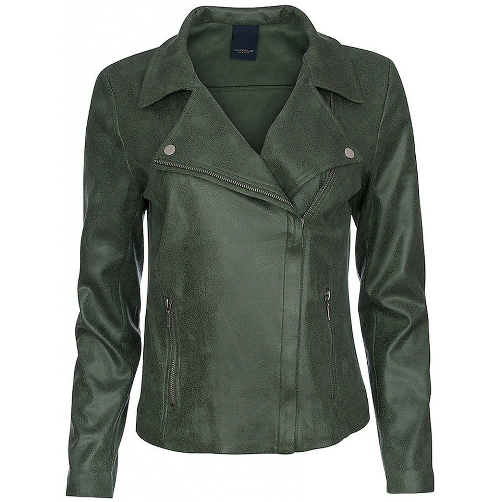 One Two Luxzuz One Two Luxzuz Fritsenio coated suede jacket