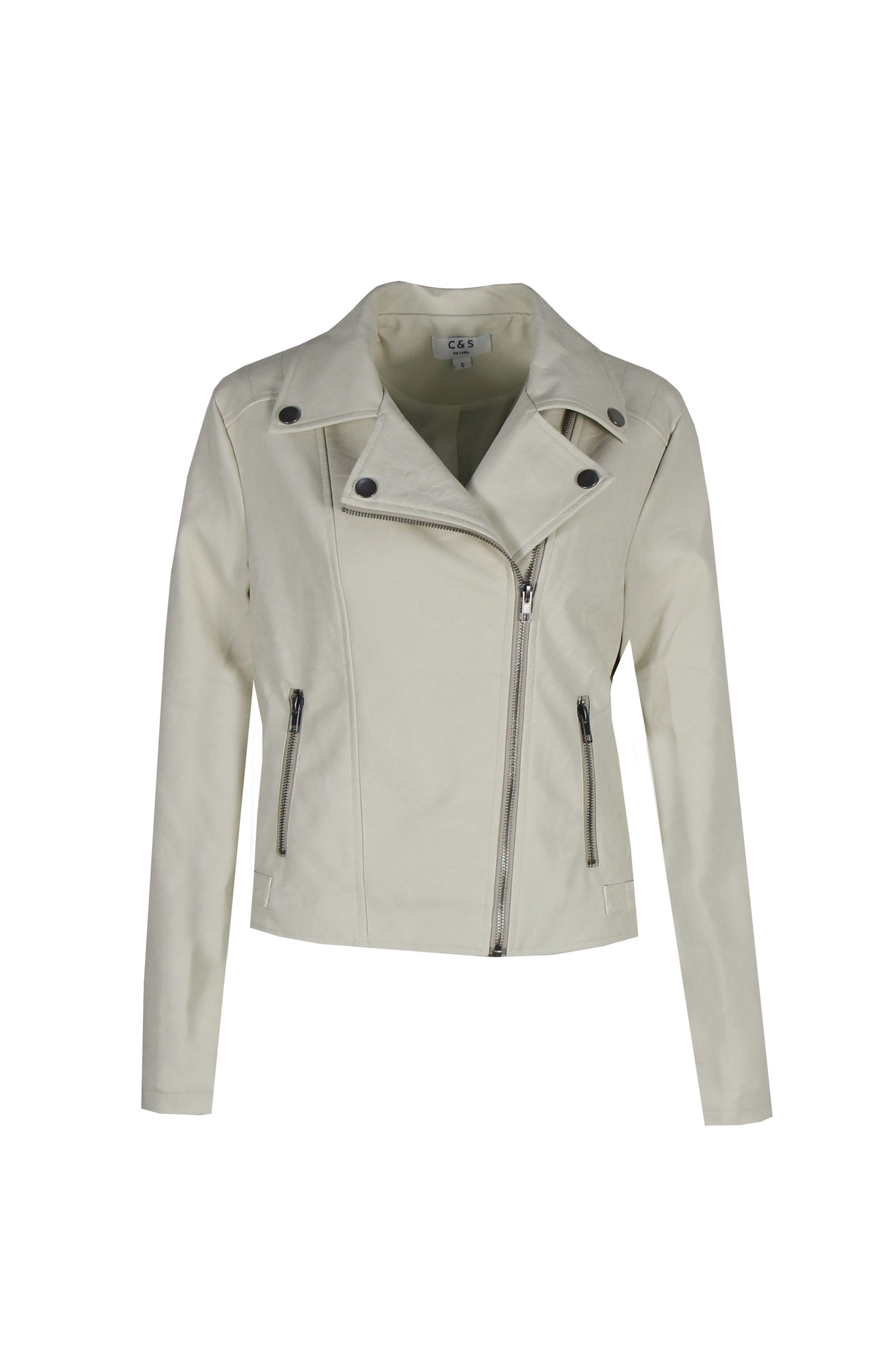 C&S The label C&S The Label Ifra jacket zand