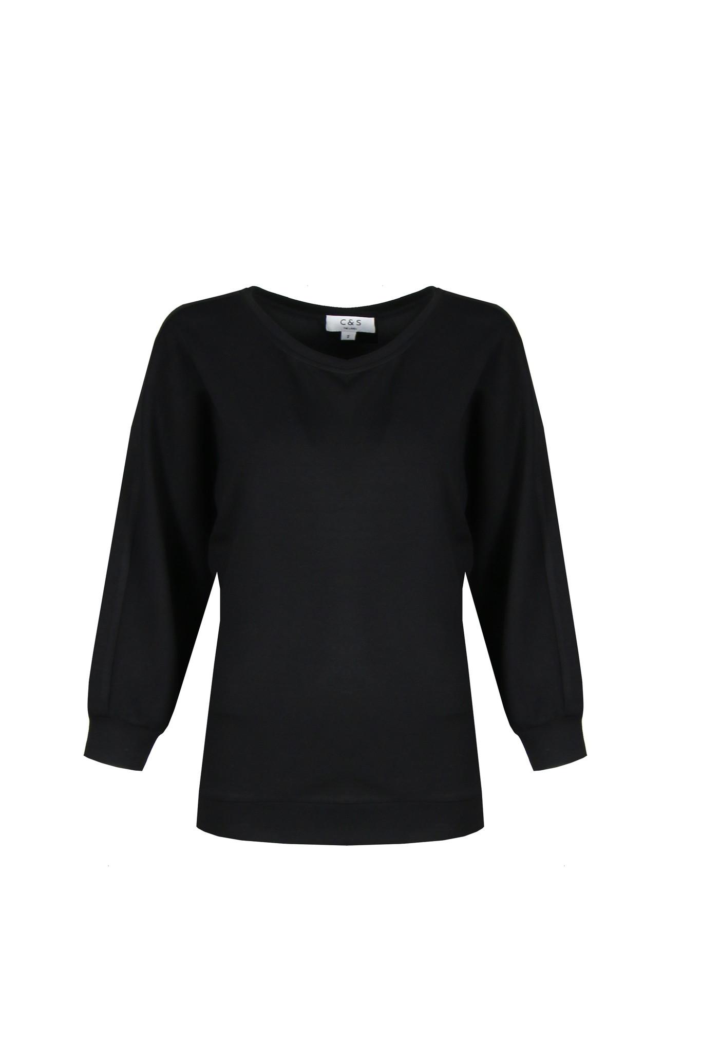 C&S The label C&S The Label June sweater zwart