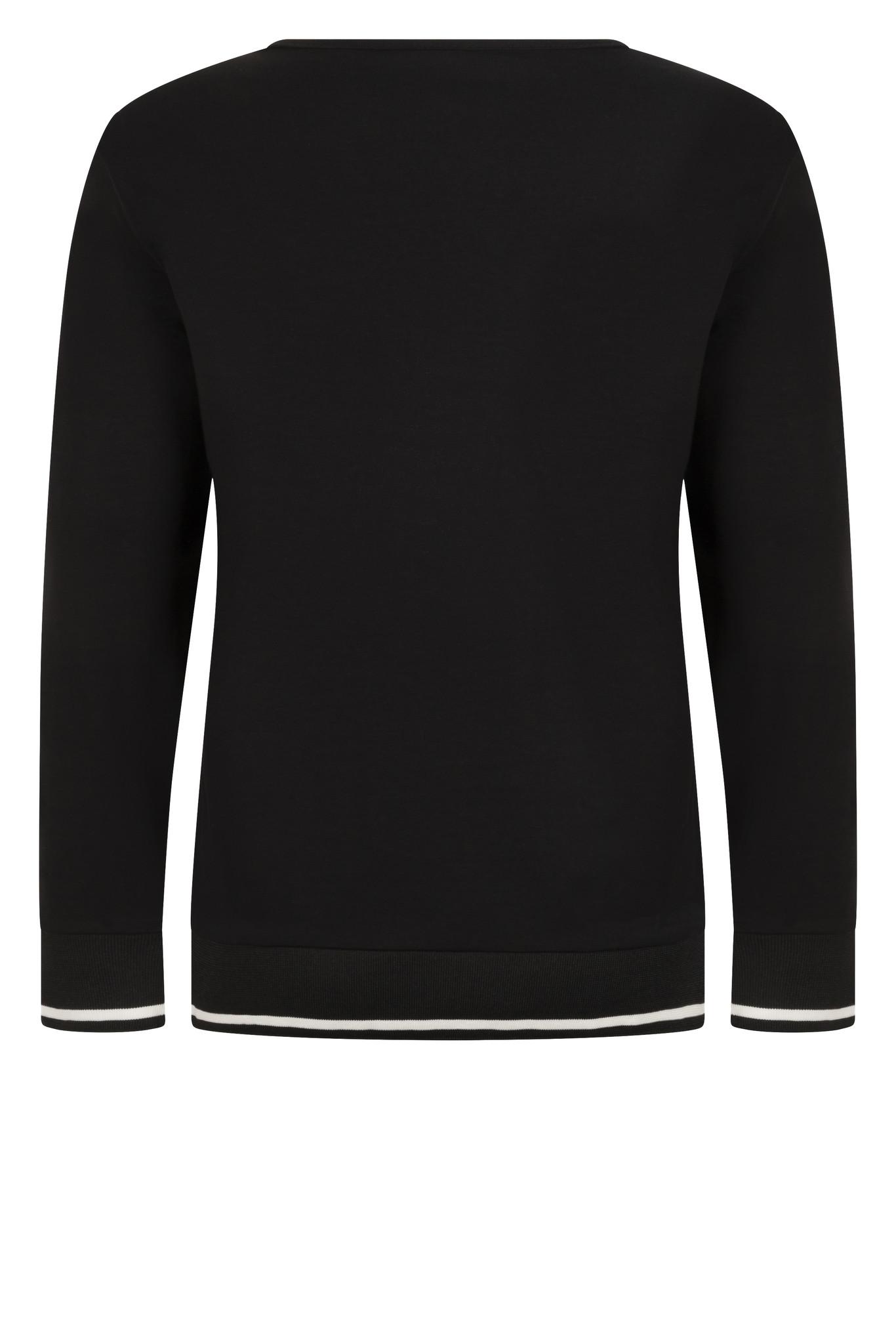 Zoso Zoso Paris top black with print