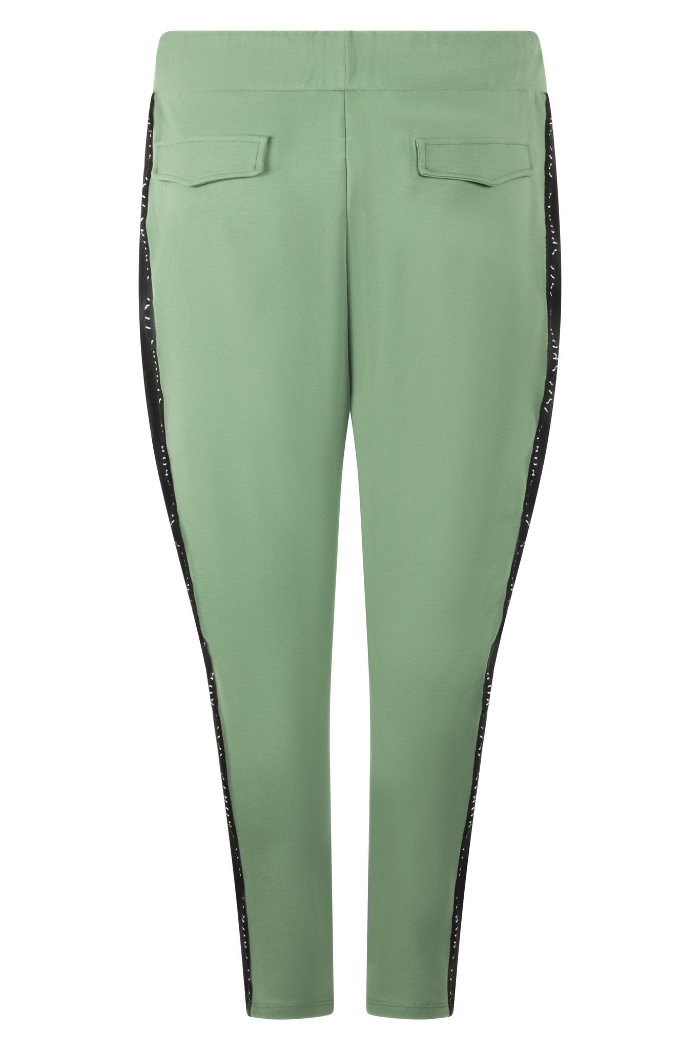 Zoso Zoso 215Fresh broek sporty sweat green/black