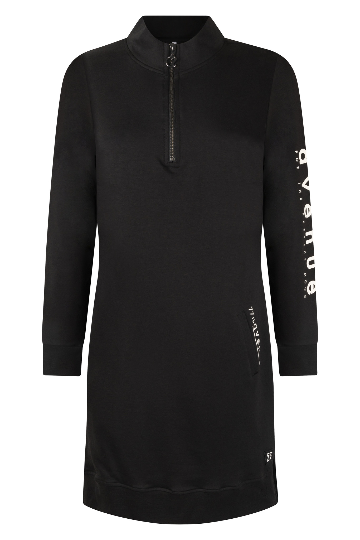 Zoso Zoso 215 Jaimy Sporty tunic/dress black/offwhite