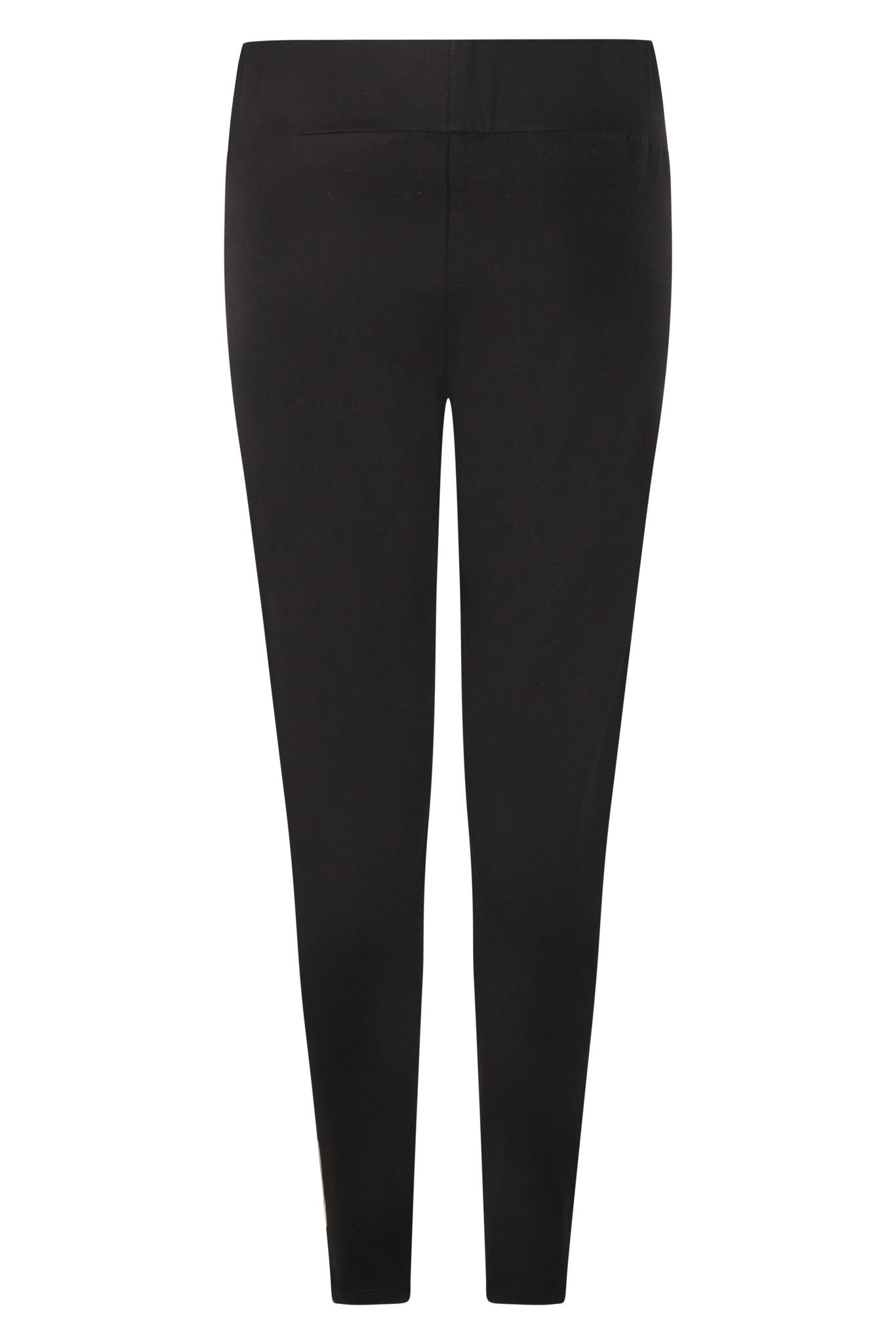 Zoso Zoso 215 Alice tight pant with techprint black/offwhite