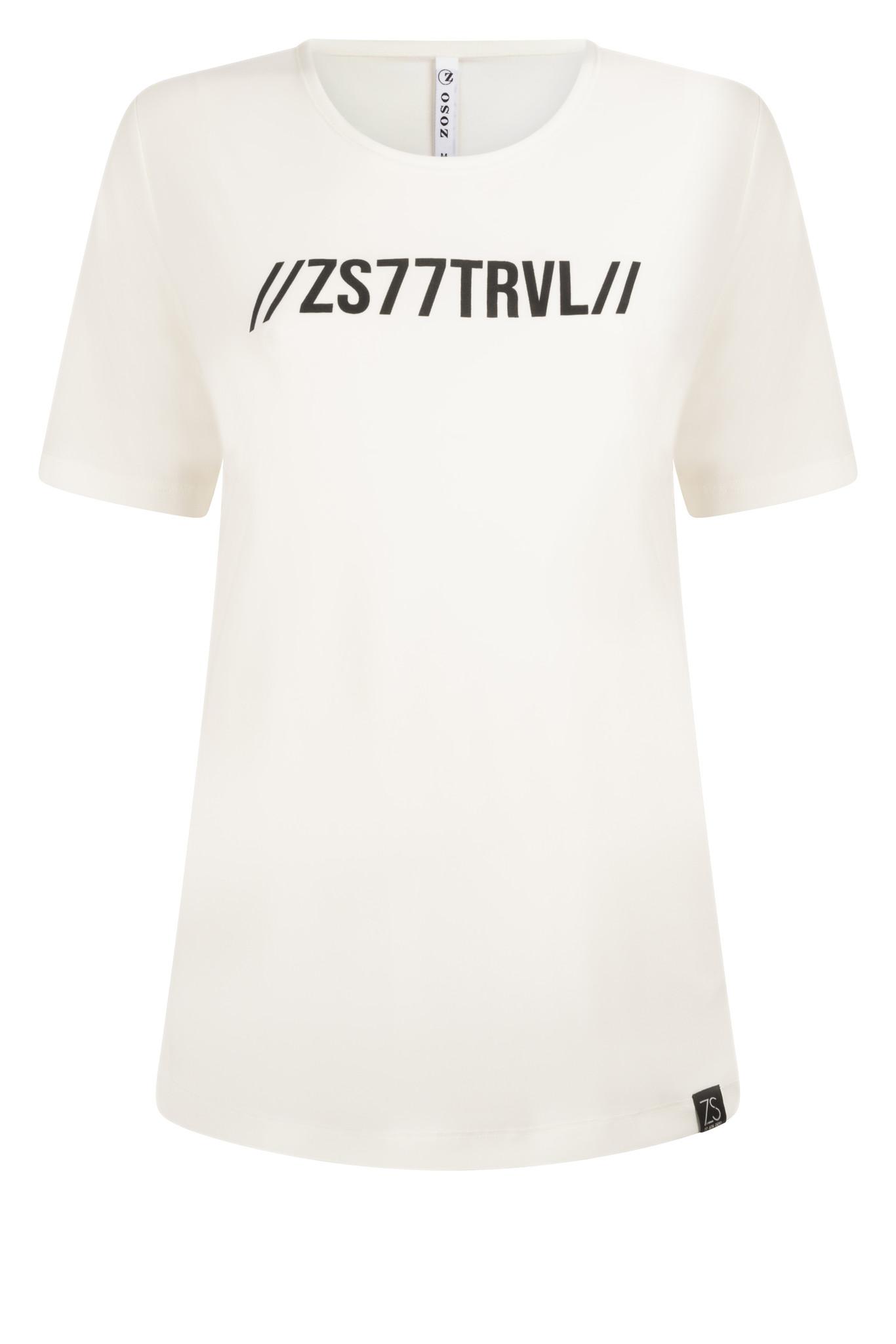 Zoso Zoso 215 Michelle Splendour t-shirt off white/green