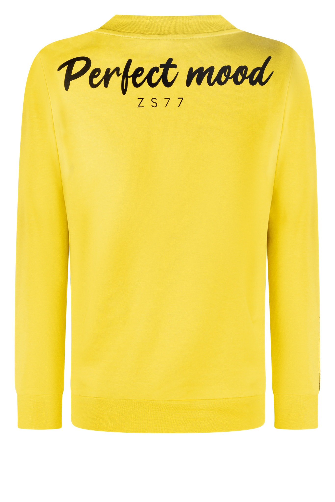 Zoso Zoso  215 Zendra  Zipper sweater with spice  yellow/black