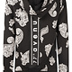 Zoso Zoso 215Nice Hooded sweater with print black/offwhite