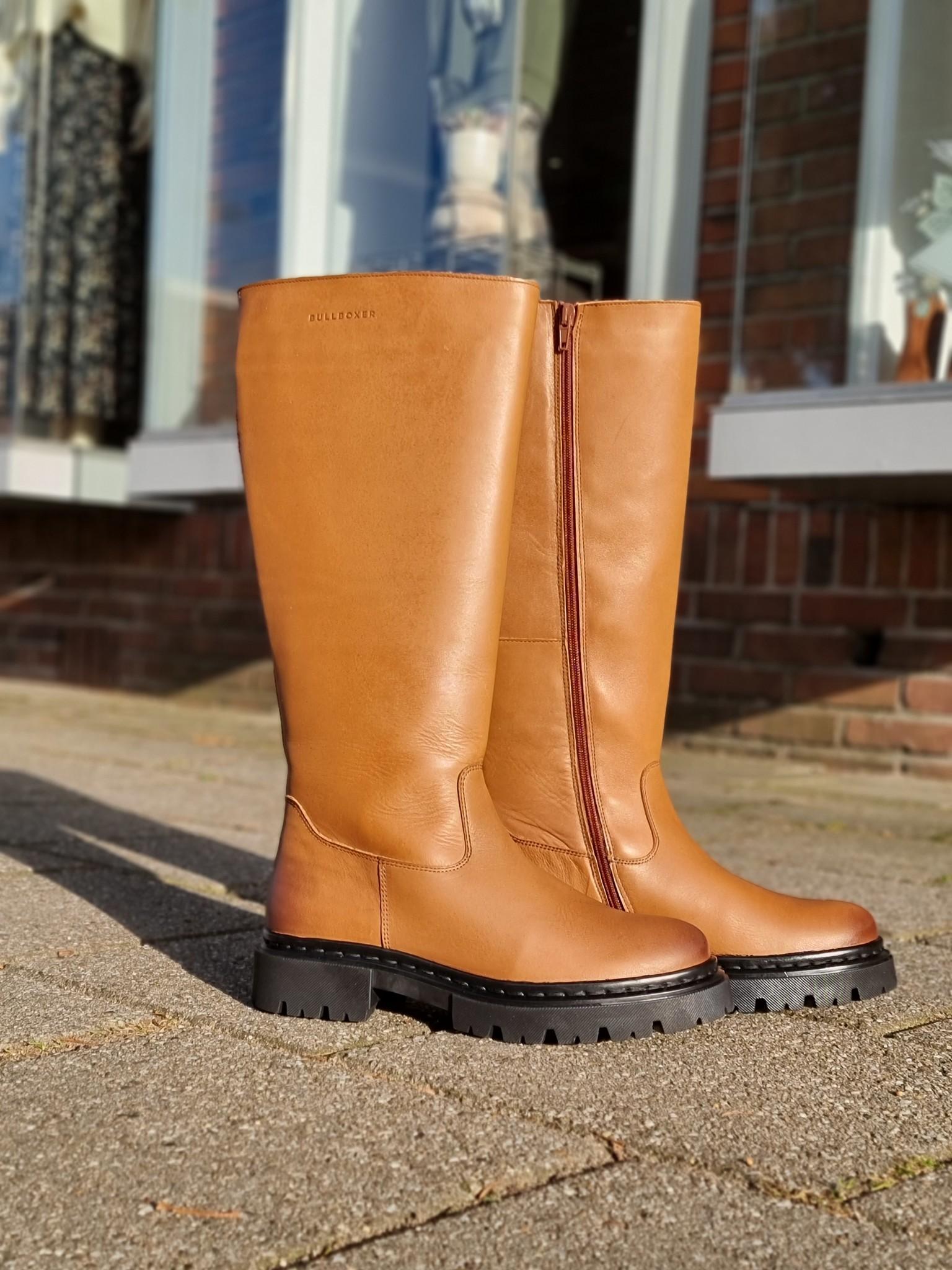 Bullboxer Bullboxer hoge boots congac