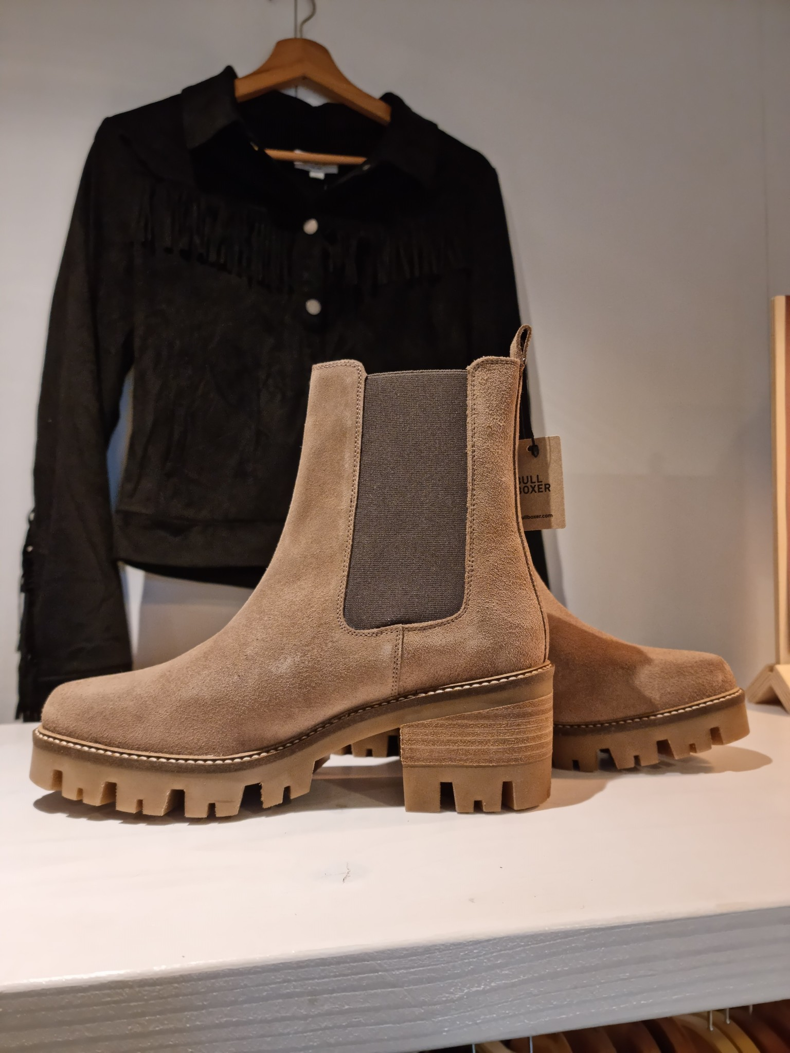 Bullboxer Bullboxer boots taupe