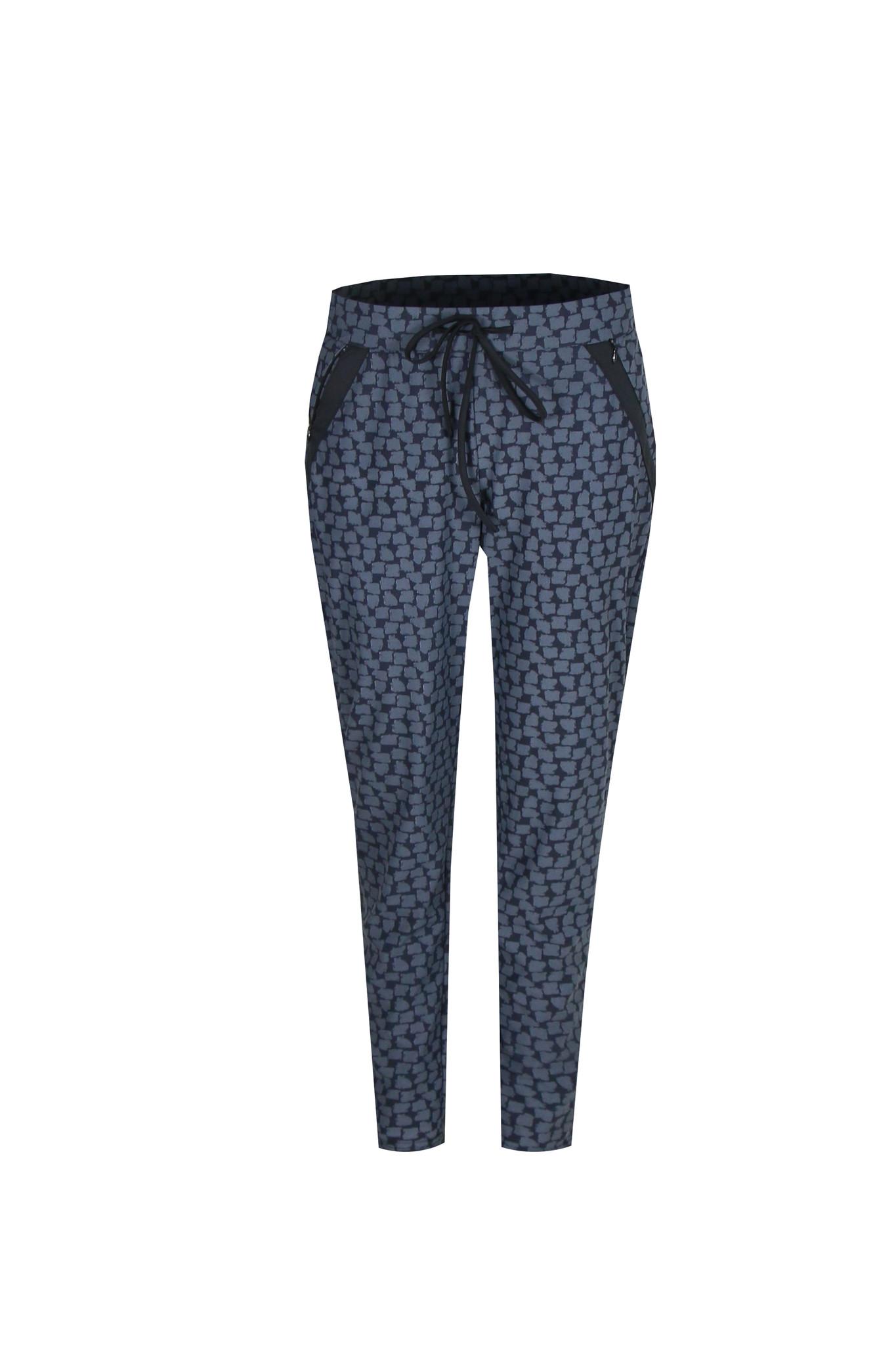 G-Maxx G-Maxx Brigitta broek zwart/jeansblauw