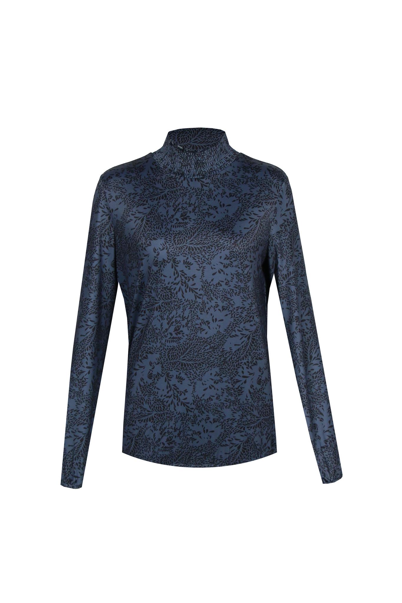 G-Maxx G-Maxx Katoo longsleeve jeansblauw/zwart