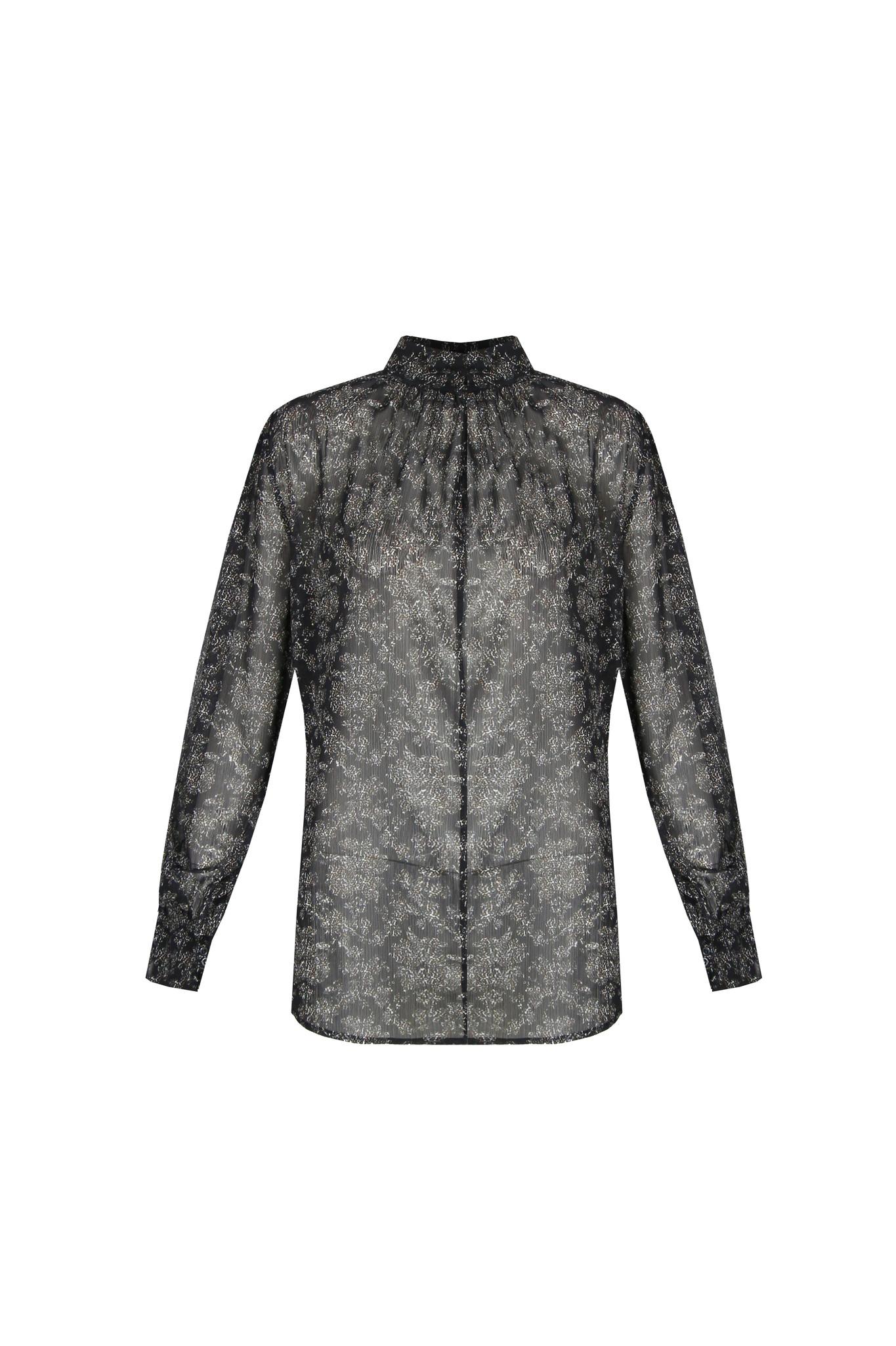 G-Maxx G-Maxx Keet blouse zwart/roomwit