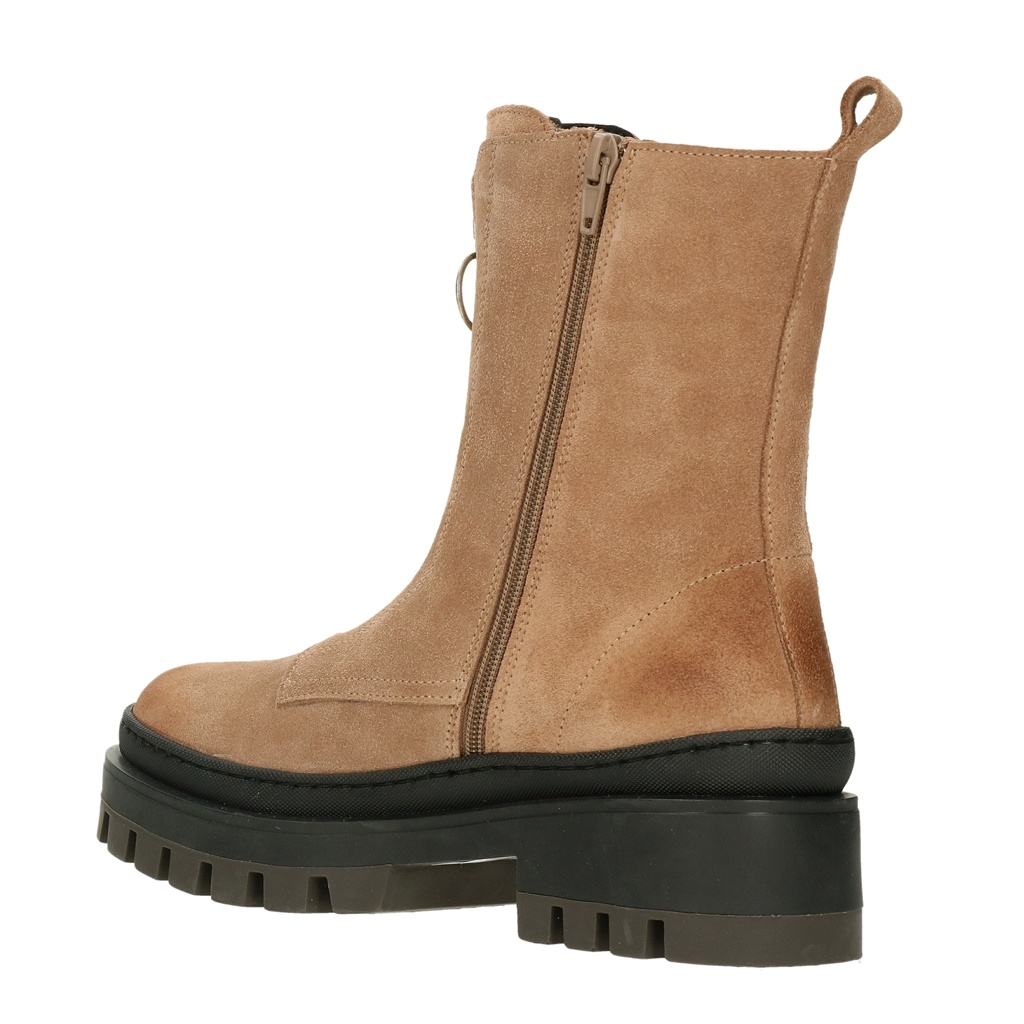 Bullboxer Bullboxer boots zipper taupe