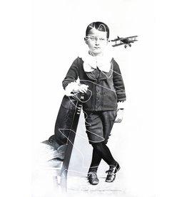 Zoé Byland Boy with Aeroplane
