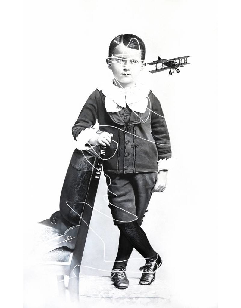 Zoé Byland Boy with Aeroplane