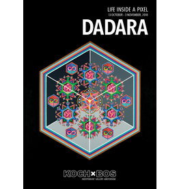 KochxBos Gallery Dadara 'Life inside a pixel'  2018 A2 poster