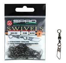 SPRO - Barrel Swivel + Safety Snap 10st
