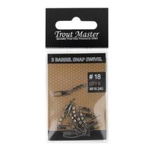 SPRO - Trout Master - 3 Barrel Snap Swivel