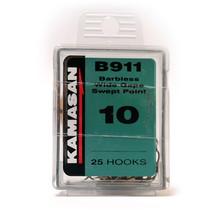 KAMASAN - B911 Barbless Wide Gape Swept Point