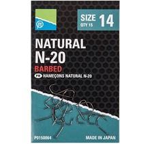 PRESTON - Natural N-20 Barbed