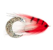 FULLING MILL - PAOLO'S WIGGLE TAIL WHITE & RED 6/0