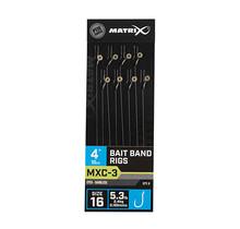 "MATRIX - MXC3 Barbless 4"" Bait Band Rigs"