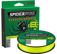 SPIDERWIRE -  Stealth® Smooth8 Hi-Vis Yellow