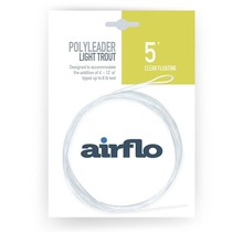 AIRFLO - Light Trout 5' Polyleader