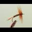 RF RF - Grey Spinner Red Hackle #16