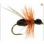 RF RF - Black Ant Red Hackle Barbless