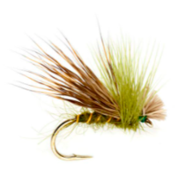 RF - Hi-Viz Elk Hair Tan Barbless