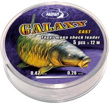 KATRAN - Galaxy Cast Taper Mono Shock Leader