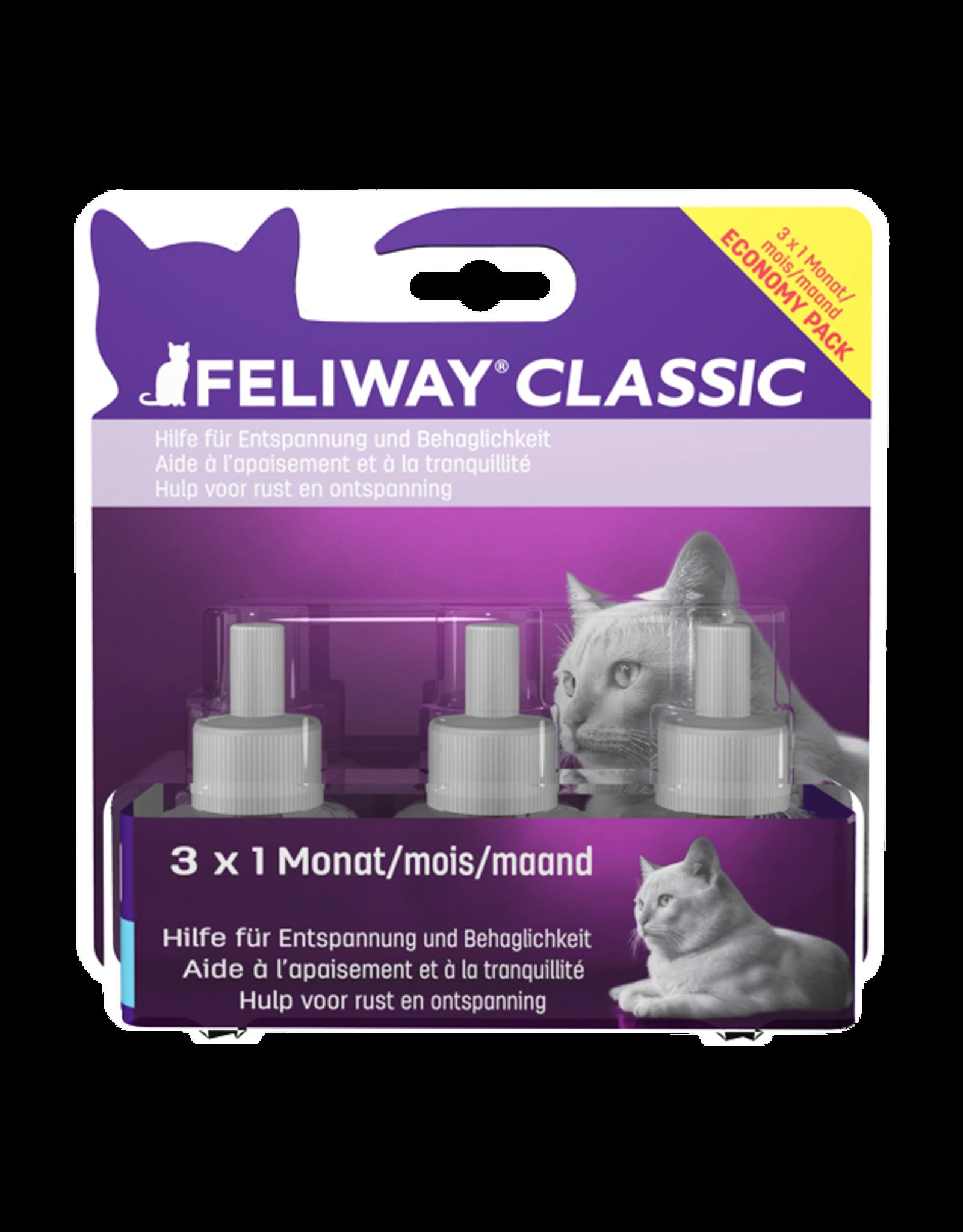 Feliway Feliway Classic navulling tripack