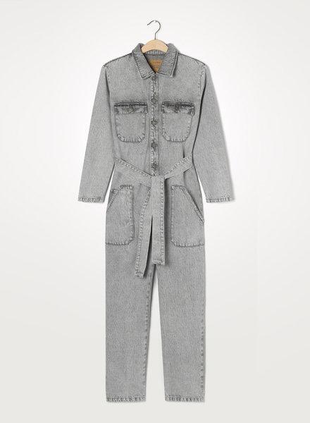 American Vintage Tizanie jumpsuit gris poivre & sel