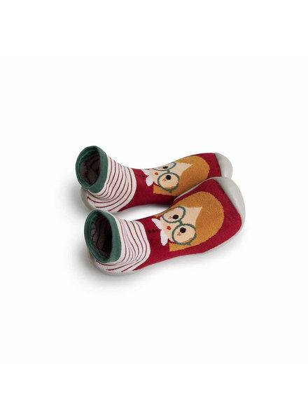 Collegien Sokpantoffels 'Chaperon Rouge'