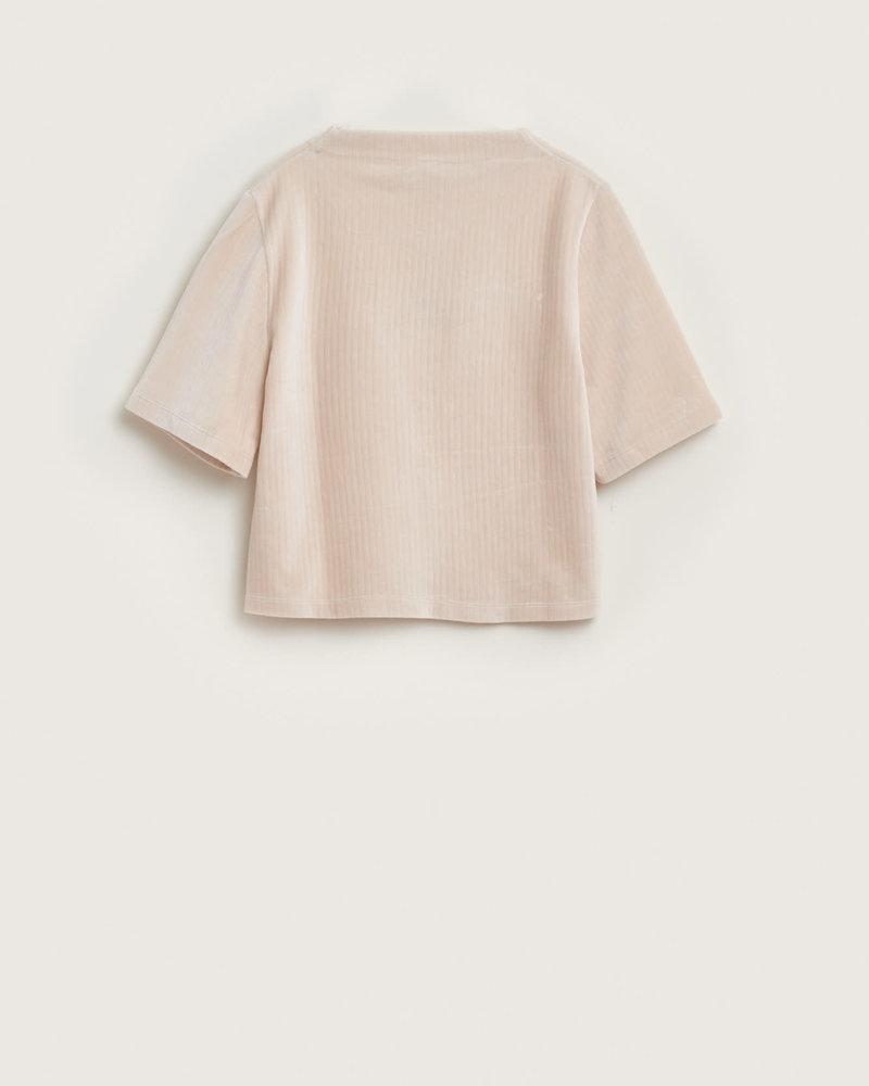 Bellerose Ribfluwelen sweatshirt Foul