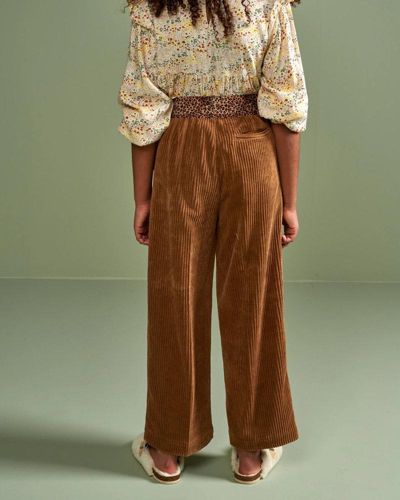 Bellerose Ribfluwelen broek Anna Fawn