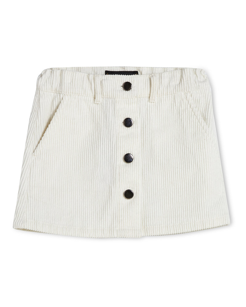 Finger in the nose Lacee Minirok off white