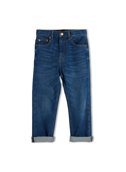 Finger in the nose Ollibis Jeans Unisex Blue denim